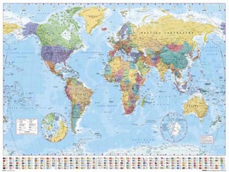 Mappamondo Geografico Cartina.Utilita Della Carta Geografica Planisfero Da Parete Rio Torsero Web