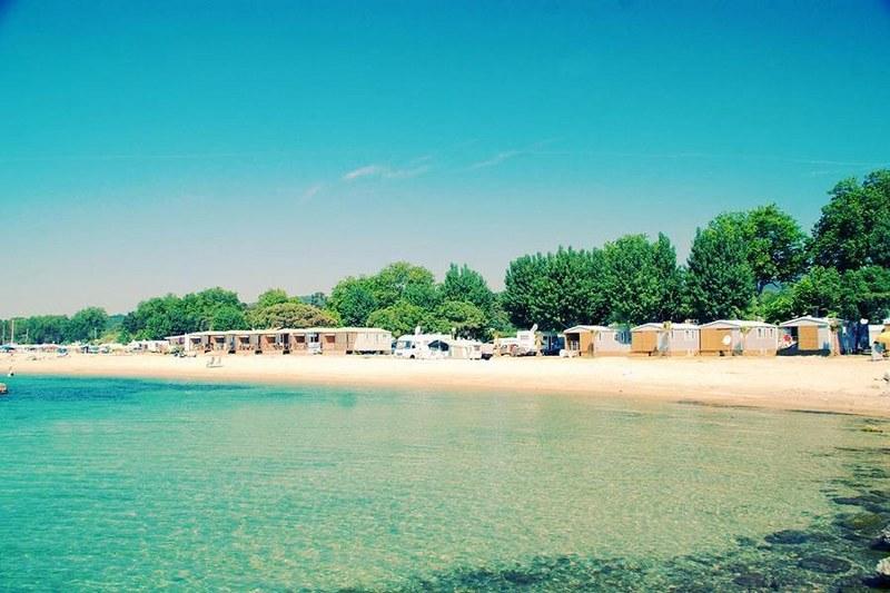 campeggi sulla costa della costa azzurra