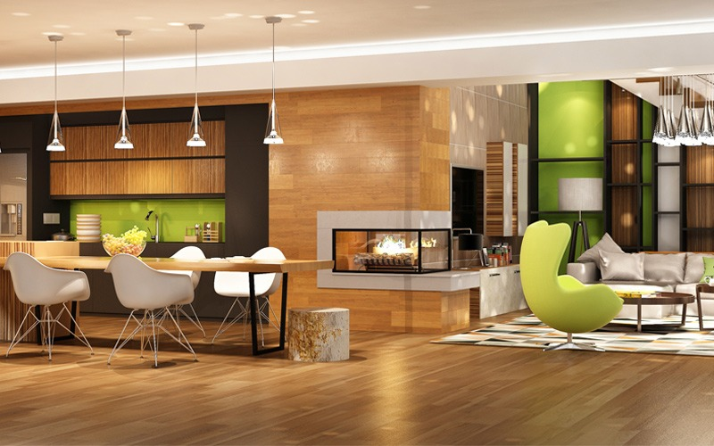 interior-design esempio dettagli verdi_800x500